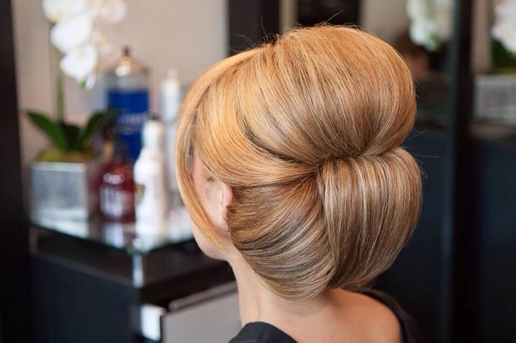 Elegant updo for a cocktail party or night out