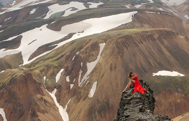 #183. Dress-tour. Landmannalaugar. Iceland - http://www.oskinpavel.com/