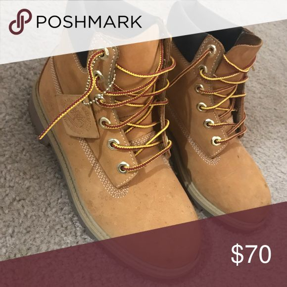 Wheat Timberland boots Timberland boots worn. Timberland Shoes Boots