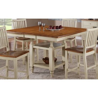 Superior Steve Silver Company Steve Silver Company Candice Counter Height Dining  Table With Butterfly Leaf In Oak And White   Home   Furniture   Dining U0026  Kitchen ...