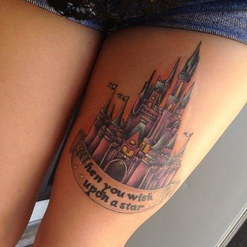 Best 25 Disney Quote Tattoos Ideas On Pinterest: 25+ Best Ideas About Disney Thigh Tattoo On Pinterest