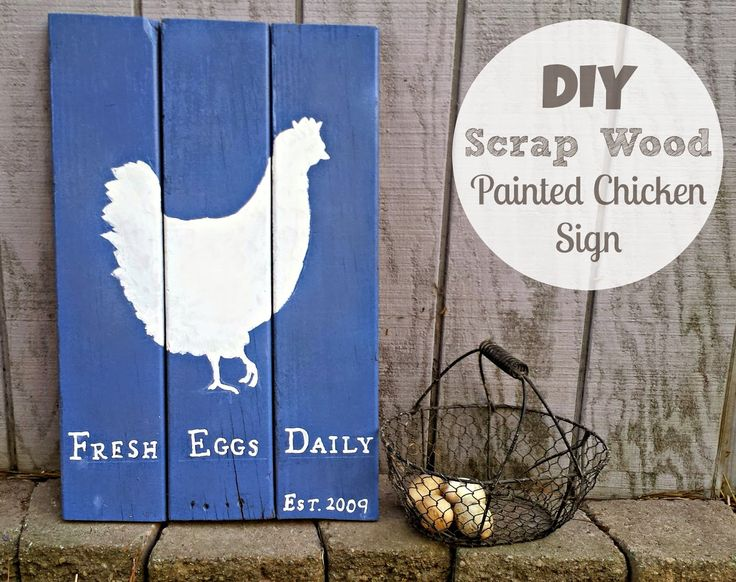 I hate to throw anything away, even if its an old broken fence board. I love this DIY project...