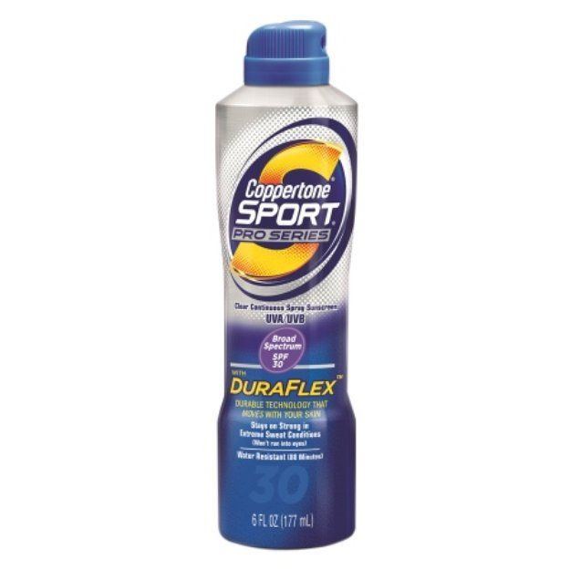 I'm learning all about Coppertone Sport Pro Series Clear Continuous Spray Sunscreen at @Influenster!