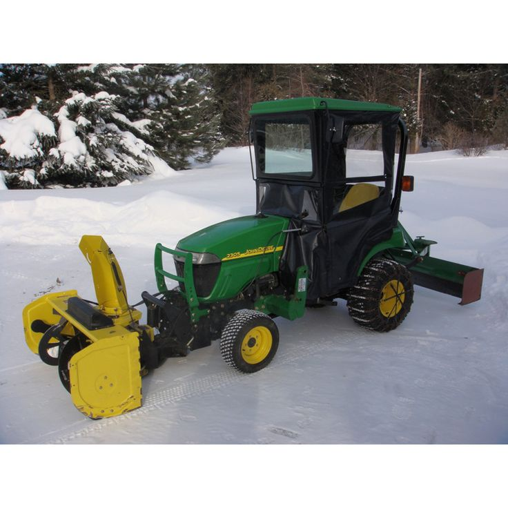 Hardtop Cab Enclosure For John Deere 2210 And 2305 Compact
