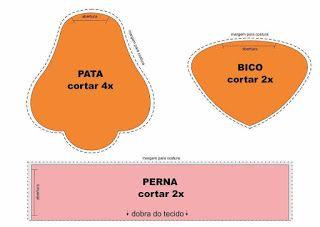 FELTRO MOLDES ARTESANATO EM GERAL: GALINHA DE PANO COM MOLDES