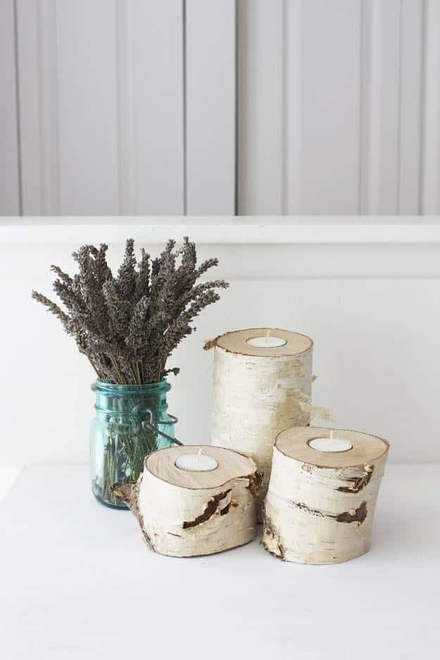 DIY Wood Log Projects | 37 DIY Home Projects Ideas For You & Me