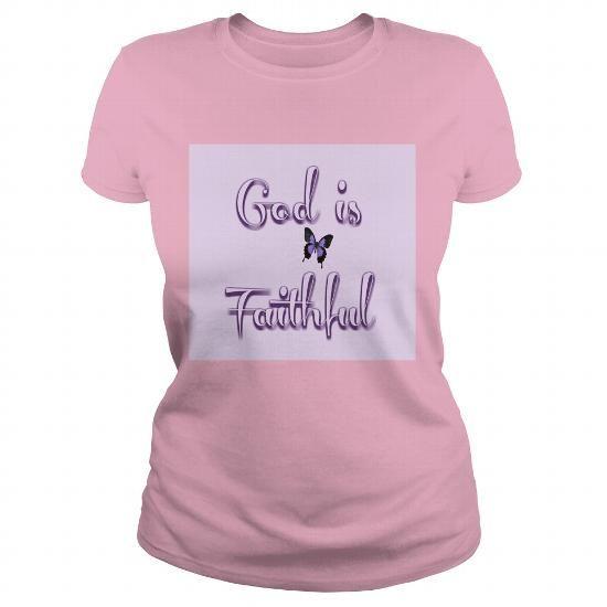 GOD IS FAITHFUL PINK WOMEN'S T-SHIRT T-SHIRTS, HOODIES, SWEATSHIRT (19$ ==► Shopping Now)