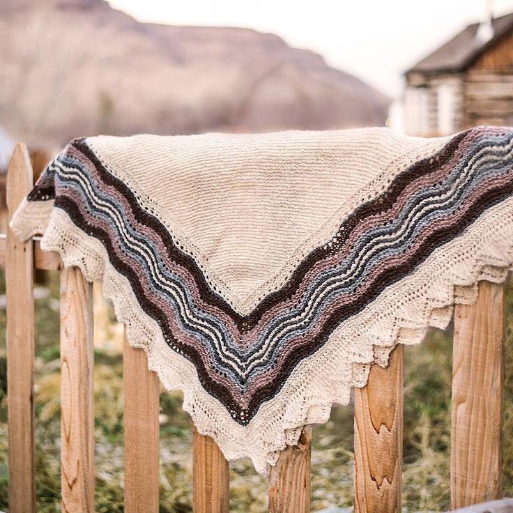 64 best Knitted Shetland Haps images on Pinterest | Ponchos, Shawl ...