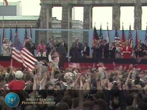 """The Culmination of Reagan's Foreign Policy: """"Tear Down This Wall!"""""""
