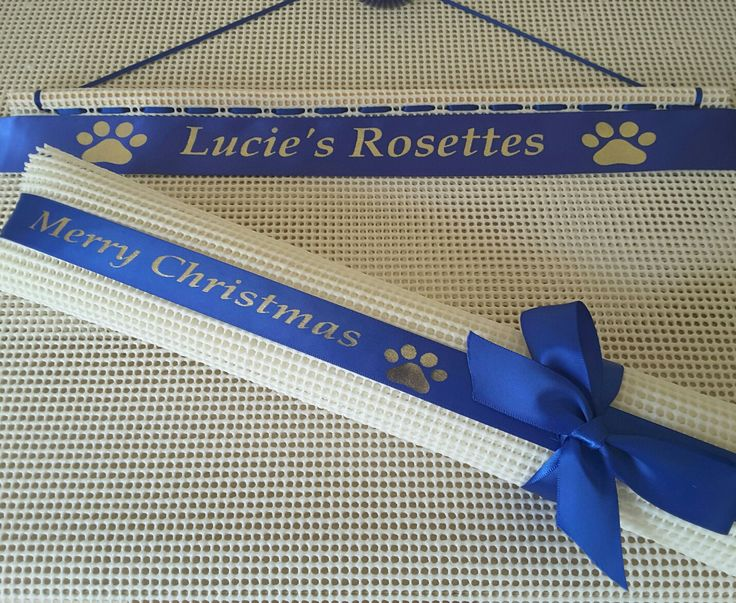ideas for displaying rosettes