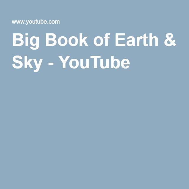 Big Book of Earth & Sky - YouTube