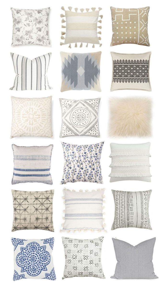 18 Neutral Throw Pillows to Spruce Up Any Space | how to decorate with throw pillows | decorating with accent pieces | decorating with throw pillows | throw pillow decor ideas | home decor tips and tricks | home decorating ideas | how to use throw pillows in your home decor | neutral home decor pieces || Glitter, Inc.