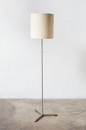 Mid-Century Tripod Base Standing Lamp
