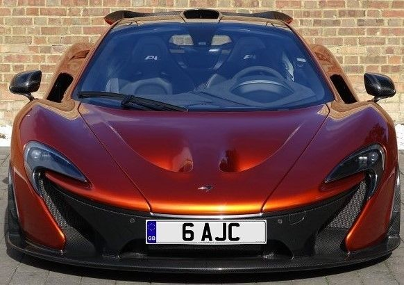 Private Number Plate: 6 AJC