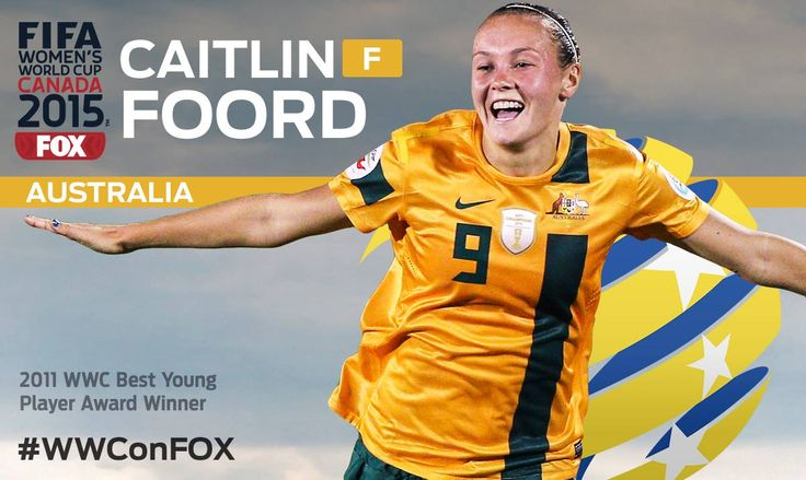 The countdown continues with 21 days until the #WWConFOX! Watch out for Caitlin Foord, a young star on the rise!