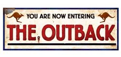 Outback Sign for the front of the Church or classroom