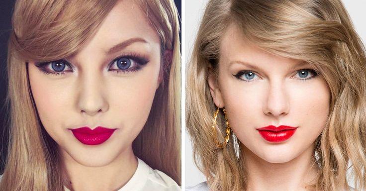 Una chica coreana muestra el increíble poder del maquillaje a través de un video en el que se transforma en Taylor Swift con 24 diferentes productos