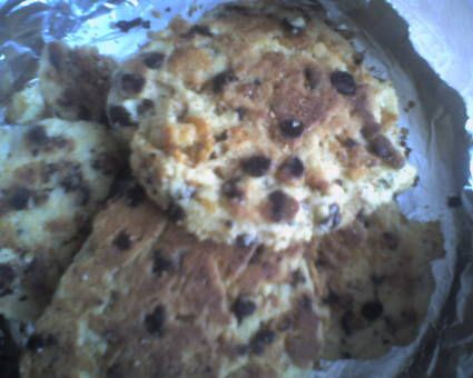 Cookies corn flakes-pépite choc