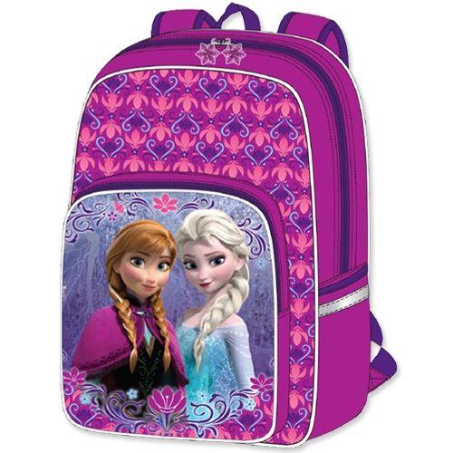 Disney Frost / Frozen Skoletaske Anna Elsa - Stor