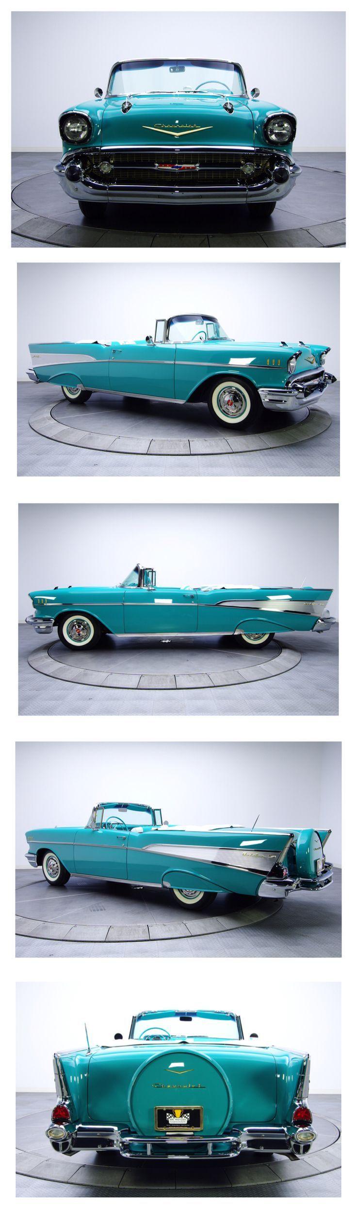 Visit The MACHINE Shop Café... ❤ Best of Chevy @ MACHINE ❤ (1957 Chevy Bel Air Roadster)