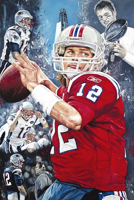 Tom Brady by Justyn Farano