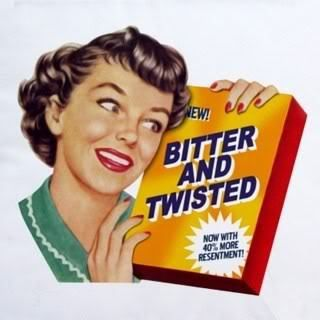 Bitter and twisted. #sassy #retrohumor