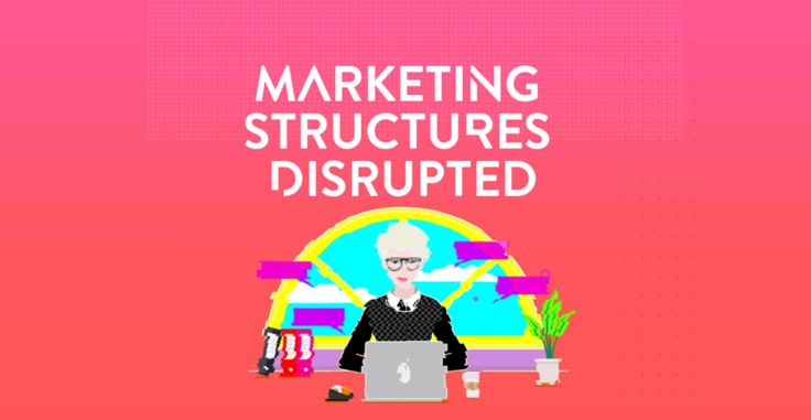 Marketing Department Structures are being Disrupted