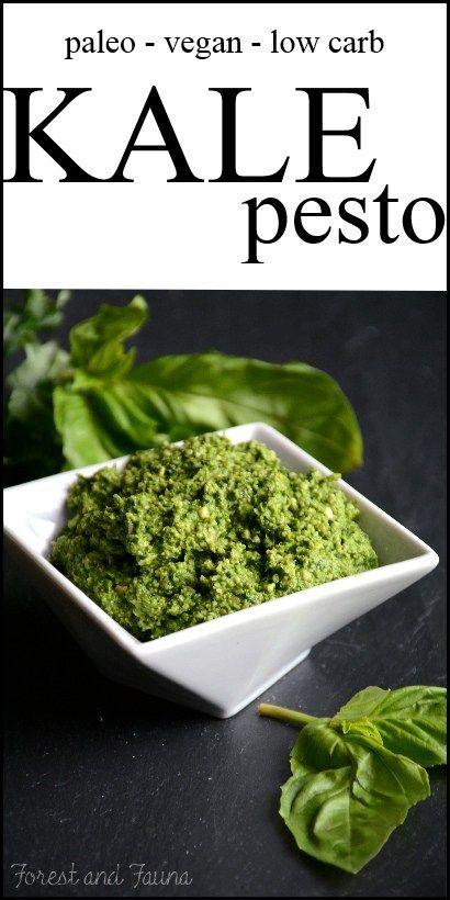 Kale Pesto (raw, vegan, paleo)