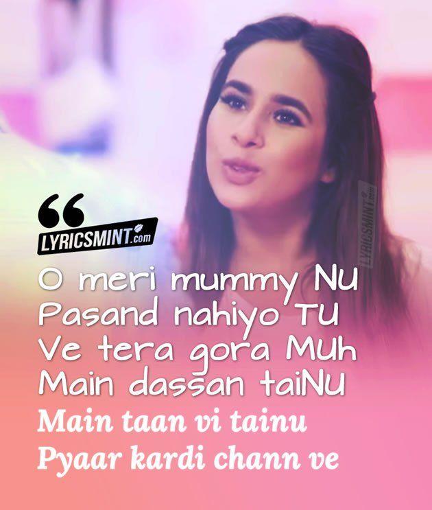Jaani Tera Naa Lyrics - Sunanda Sharma