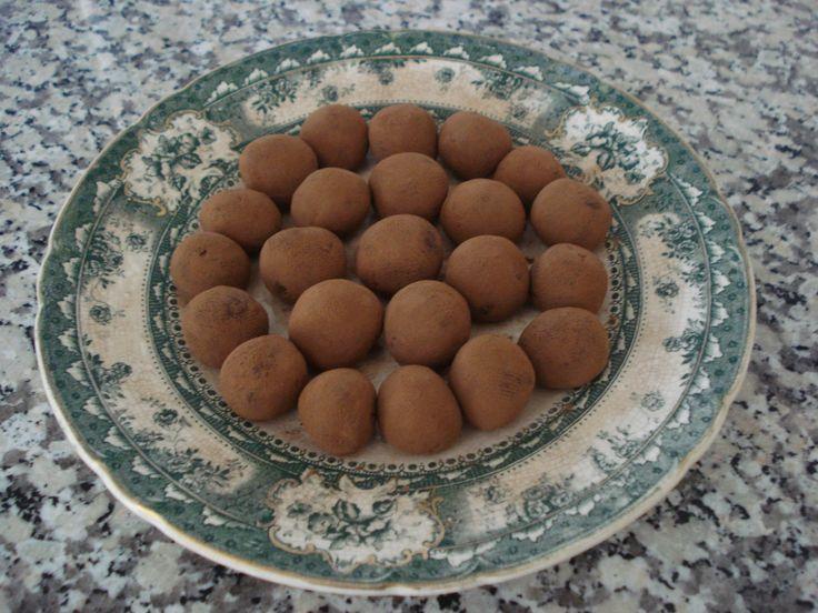 "Trufas de Chocolate de ""Chocolat"""