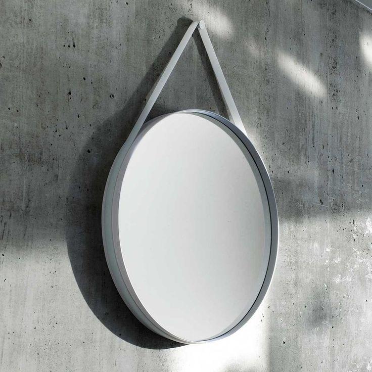 Strap Mirror Hanging