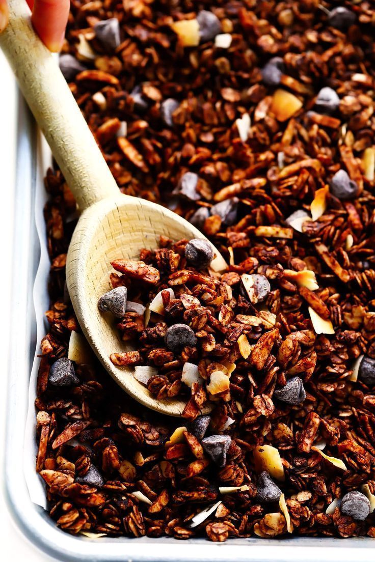 The Best Healthy Chocolate Granola   - Granola -  - #Chocolate #Granola #Healthy - #chocolate #granola -