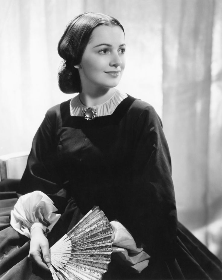 Olivia de Haviland in Gone With the Wind: