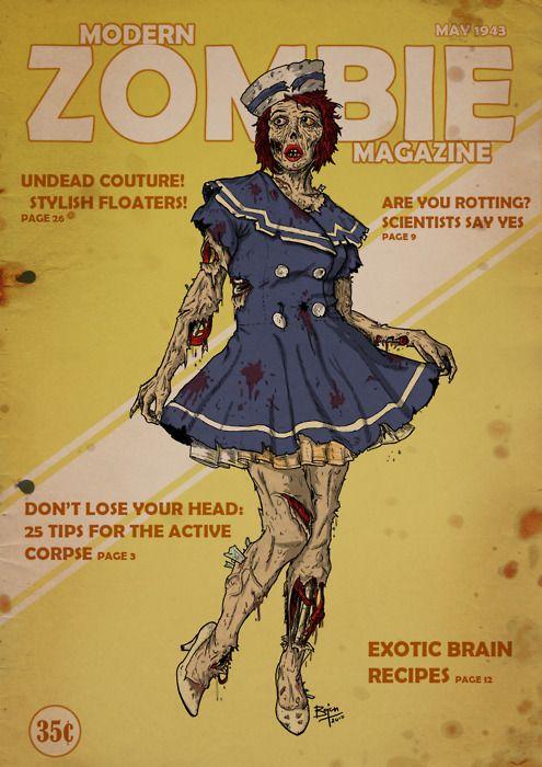 Modern zombie magazine  (via 74Q2 (Image JPEG, 495x700 pixels))