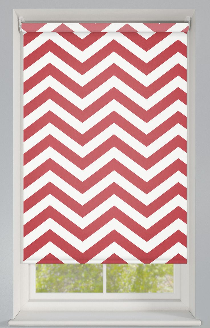 Products rollers in vogue blinds - Trendy Zig Zag Pattern In Grey Made To Measure Patterned Roller Blind This Striking Zig Zag Print In Grey Is Sure To Add A Trendy And Modern Look To Your
