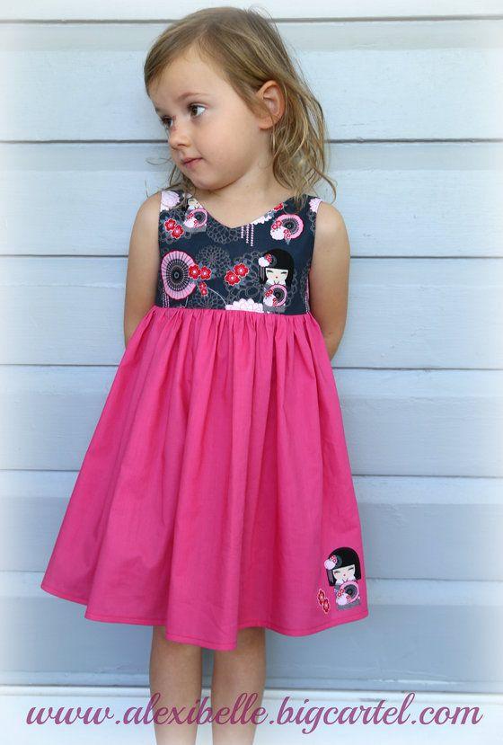 Beautiful girls party dress