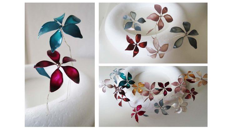 Hier zeige ich euch, wie man mit Draht und Nagellack eine kleine Blume herstellt, die zu Dekorationszwecken genutzt werden kann.