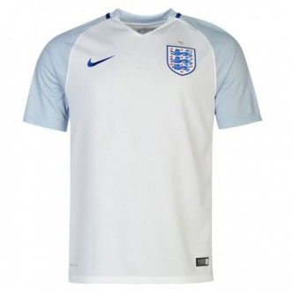 2016 England Home White Thailand Soccer Jersey