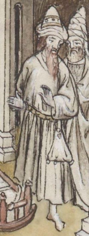 « La Legende dorée » [de JACQUES DE VORAGINE], traduction [de JEAN DE VIGNAY]  Date d'édition :  1404  Français 414   Folio 122v