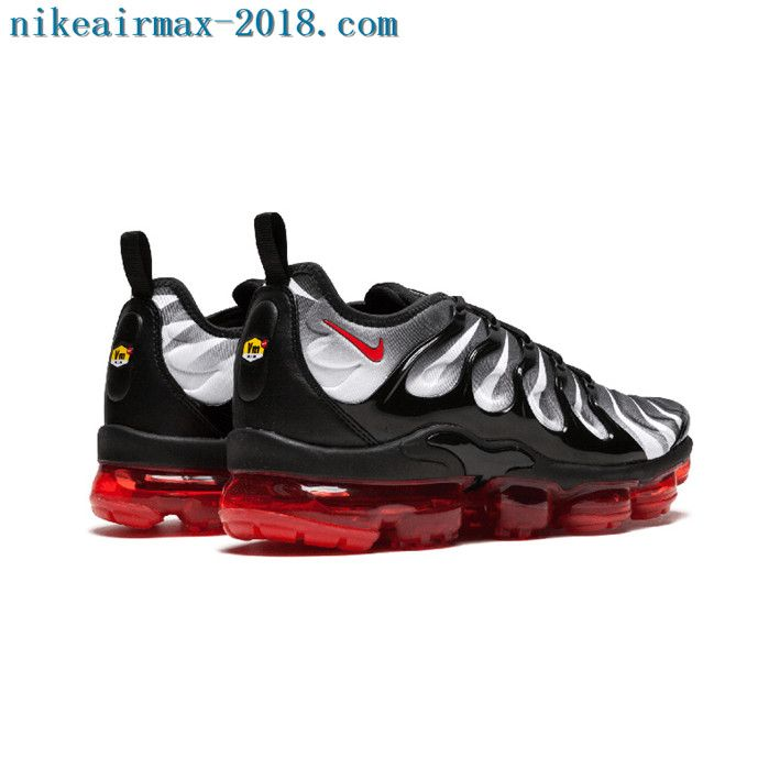 vapormax plus red shark tooth
