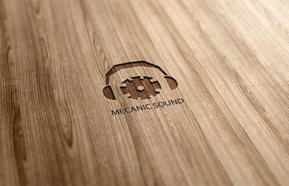 Mecanic Sound Logo Design by Florin Chitic on Creative Market