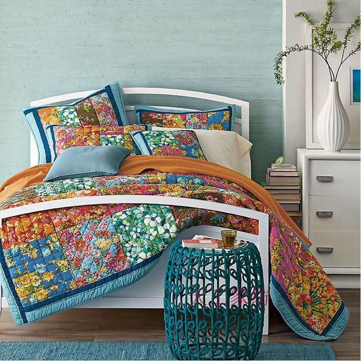 Les 25 meilleures id es de la cat gorie couvre lit floral sur pinterest literie motifs - Acheter lit king size pas cher ...