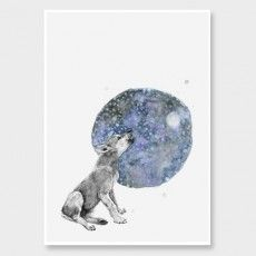 Wolf Art Print by George Sand Studio