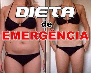 Dieta de Emergência Para Perder Peso Rápido