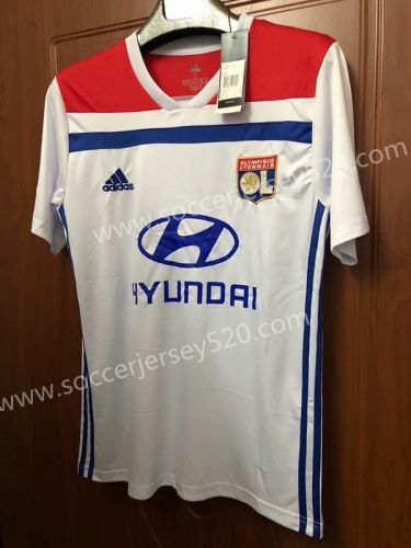 2018-19 Olympique Lyonnais Home White Thailand Soccer Jersey AAA ... feabd22e1