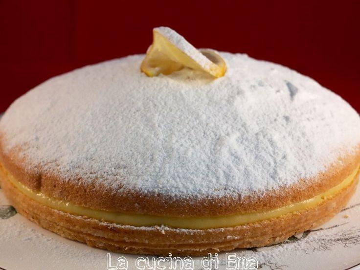 Torta+al+limone+con+crema+al+limone