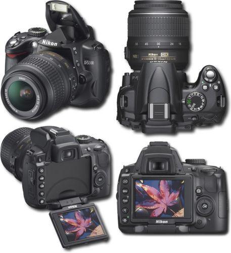 Nikon d5000 con obiettivi e flash OCCASIONE