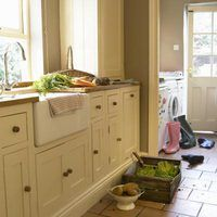 Replacing old cabinet hardware can completely update kitchen, bathroom and utility room cupboards. Once you've unscrewed the hardware and removed it, you may find rust or oil stains, as well as dents or holes. Repairing them is simple enough if you plan to repaint or refinish the cabinets. Otherwise, use extra care so you don't damage or remove the...
