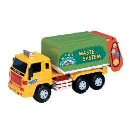 Toy Recycling Truck $29.97 http://www.educationaltoysplanet.com/toy-recycling-truck.html
