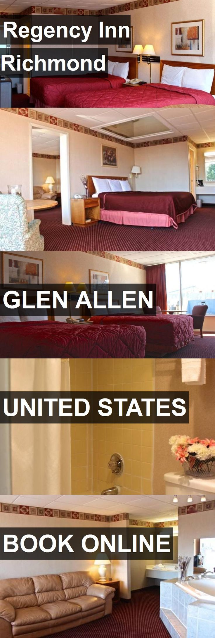Hotel Regency Inn Richmond in Glen Allen, United States. For more information, photos, reviews and best prices please follow the link. #UnitedStates #GlenAllen #travel #vacation #hotel